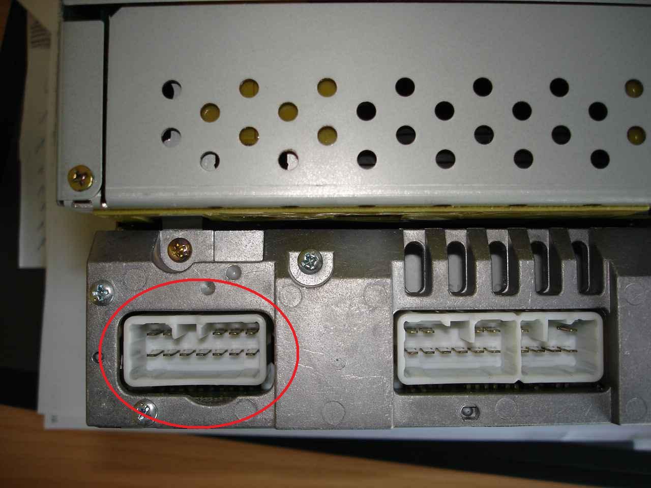 Radio-Stecker IS 200 - Optik & Modifikationen - Lexus Owners Club Europe