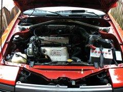 Celica T16 Motorraum