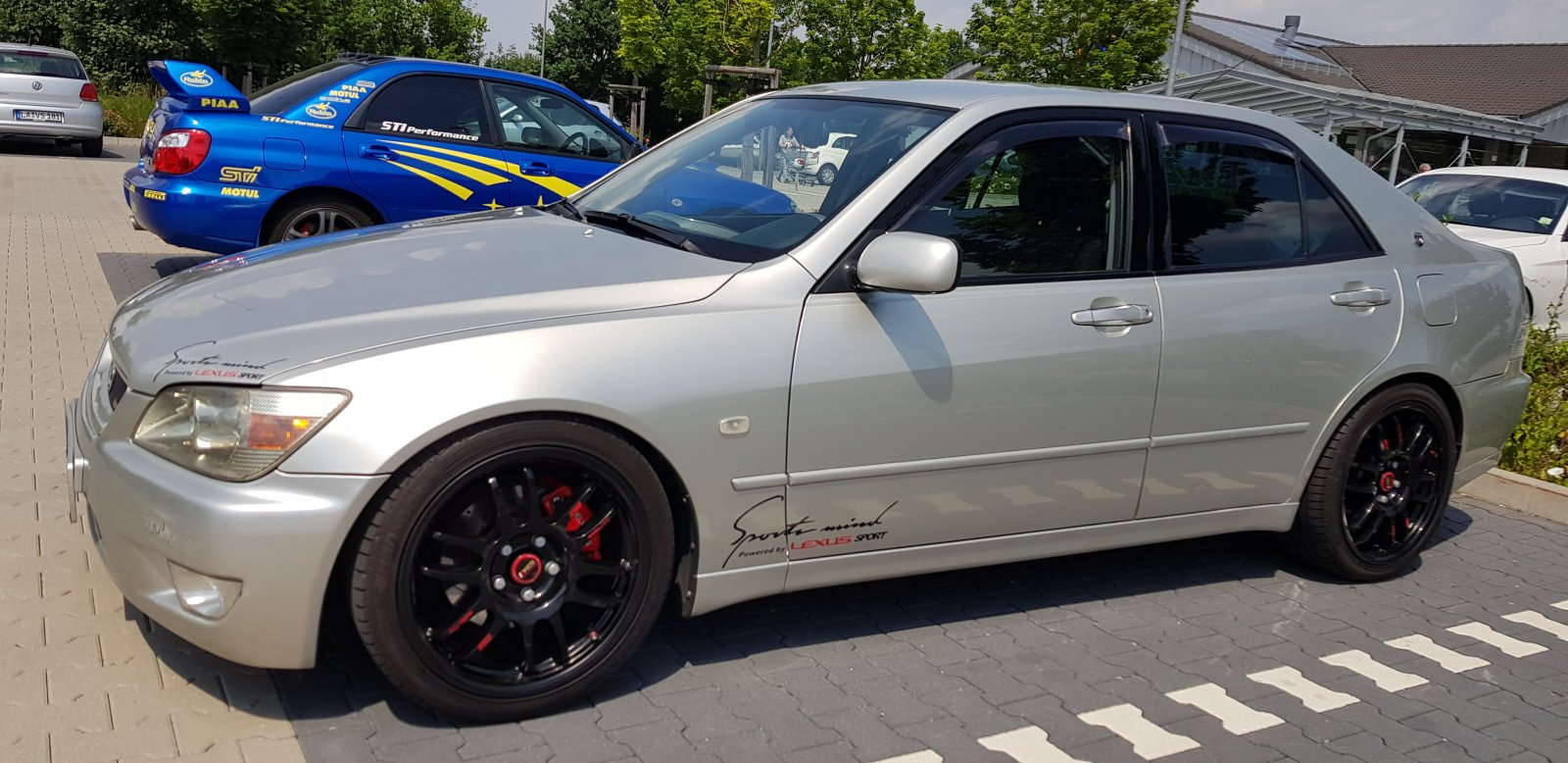 Lexus IS200 mit STI 😁👍